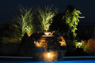 Water features & landscape lighting
